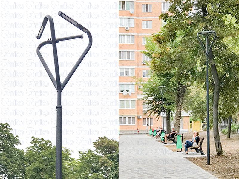 поставка опор освітлення в Україні